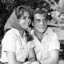 Deborah Walley and George Maharis