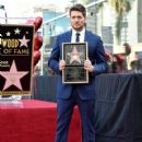 Michael Buble Honored With Star On The Hollywood Walk Of Fame - 420 x 600