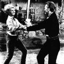 Jayne Mansfield and Kirk Douglas