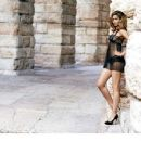 Ana Beatriz Barros Intimissimi Lingerie 2014 Fall Ad Campaign