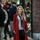 Blake Lively - Gossip Girls On Location, NYC, 07-11-2007