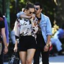Joe Jonas and Blanda E. (September 6)