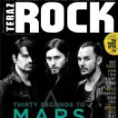 30 Seconds to Mars - Teraz Rock Magazine Cover [Poland] (May 2013)