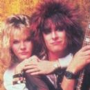 Nikki Sixx and Kimberly Foster