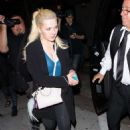 Abigail Breslin at Craig's Restaurant in West Hollywood