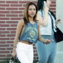 Karrueche Tran Out and About