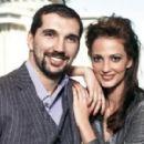 Peja Stojakovic and Aleka Kamila