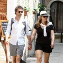 Kate Winslet and her husband Ned Rocknroll out in Venice