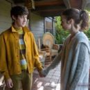 Lily Collins and Alex Sharp
