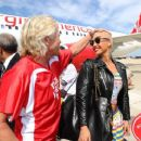 Amber Rose attends the Launch of Virgin America's First Flight from Los Angeles to Philadelphia at Los Angeles International Airport in Los Angeles, California - April 4, 2012 - 454 x 369