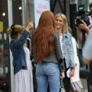 Nicola Roberts – Arrives at the Peter Pan launch in London - 454 x 692