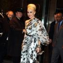 Gwen Stefani leaving The Mandarin Oriental Hotel in New York City - February 17, 2011