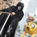 Musician Paul Stanley of KISS takes part in the 88th annual Macy's Thanksgiving Day Parade on November 27, 2014 in New York City