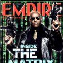 Laurence Fishburne - Empire Magazine Cover [United Kingdom] (2 June 2003)