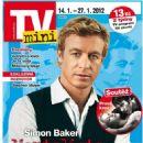 Simon Baker - TV Mini Magazine Cover [Czech Republic] (14 January 2012)