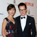 Sophie Hunter and actor Benedict Cumberbatch attend the 2015 Weinstein Company and Netflix Golden Globes After Party at Robinsons May Lot on January 11, 2015 in Beverly Hills, California - 413 x 594
