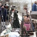 Eleanor Tomlinson – Filming 'Poldark' in Charleston - 454 x 273
