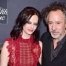 Eva Green and the Director Tim Burton attending the New York premiere of 'Miss Peregrine's Home for Peculiar Children' held at Saks Fifth Avenue in New York City, United States - Monday 26th September 2016 - 454 x 558