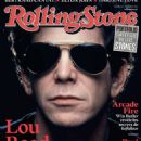 Lou Reed - Rolling Stone Magazine Cover [France] (December 2013)