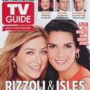 Angie Harmon, Sasha Alexander - TV Guide Magazine Cover [United States] (17 June 2013)