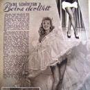 Betty Grable - Funk und Film Magazine Pictorial [Austria] (15 December 1950)