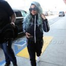 Blac Chyna at LAX Airport in Los Angeles, California - September 2, 2017 - 454 x 593