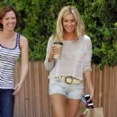 Ashley Tisdale: out on a lunch date with her friend in LA