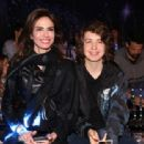 Luciana Gimenez and son Lucas Jagger - 2017 - 454 x 312