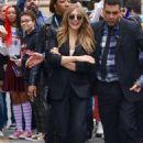 Elizabeth Olsen – Exits Build Series in NY