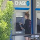 Cara Delevingne – Makes a trip to her local Chase atm in Los Angeles - 454 x 681