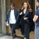 Jessica Alba – Seen leaving her hotel in NYC