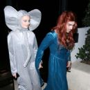 Sophie Turner and Joe Jonas – Attend a Halloween party in Los Angeles - 454 x 682