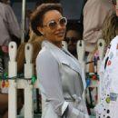Melanie Brown – Goes to church in Beverly Hills