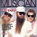 Billy Gibbons, Dusty Hill, Frank Beard - Musician Magazine Cover [United States] (January 1986)