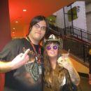 Rita Haney & fan