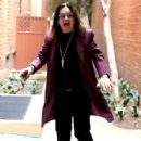 Musician Ozzy Osbourne is all smiles as he leaves a doctors office in Beverly Hills, California on February 27, 2017 - 427 x 600