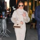 Jennifer Lopez – Leaving the NBC studios in New York