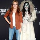 Ivana Baquero – Knott's Scary Farm Celebrity Night  Photocall in Buena Park - 454 x 671