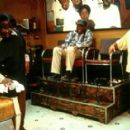 Cedric The Entertainer, Carl Wright and Ice Cube in MGM's Barbershop - 2002