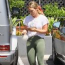 Hilary Duff – Casual street style while out running errands in LA