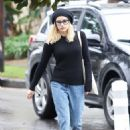 Emma Roberts in Jeans – Out in Los Angeles