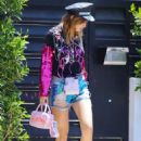 Bella Thorne – Heads to a party in Studio City