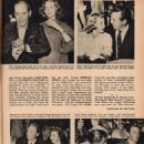 Lauren Bacall and Humphrey Bogart - Movie World Magazine Pictorial [United States] (December 1955)