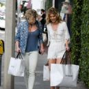 AnnaLynne and Angel Mccord Leaves Revolve Social Club in LA - 454 x 568