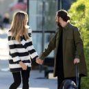 Heidi Klum and her boyfriend Tom Kaulitz – Walk with his dog in Los Angeles