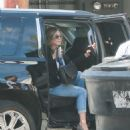 Jennifer Aniston At Hair Salon In Beverly Hills