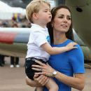 The Duke & Duchess of Cambridge Visit the Royal International Air Tattoo - 373 x 600