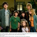 Ashley Tisdale (far right) -- along with Carter Jenkins, Henri Young, Regan Young, Ashley Boettcher and Austin Butler -- prepares to fight off an attack by knee-high alien invaders with world-destroying ambitions. Photo credit: Kirsty Griffin. - 454 x 349