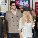 Katie Price and Leandro Penna in Welwyn