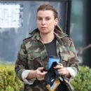 Coleen Rooney – In camo Out and about in Cheshire - 454 x 681